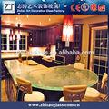 Venda quente de vidro decorativo bancada da cozinha, Table top, Bancada