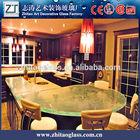 hot sale decorative glass kitchen countertop, table top, worktop