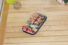 Made in china blank leather flip cases / Sublimation leather phone case / 3D heat press Leather cover for Samsung Note 3