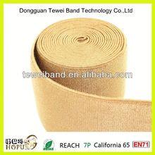 Ribbon bow with elastic loop,bungee trampoline elastic cord,non-slip elastic band