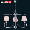 modern european crystal chandelier lamp e27 residential decoration light