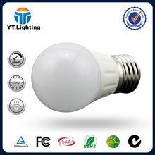 NEW Desing High Quality CE RoHS SAA TUV 3W E14 Dimmable E27 Led Bulb