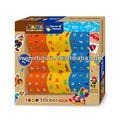 Tudo em um mais de 1000 adesivos For Kids / crianças - criança artes e artesanato idéias