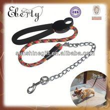 Hot flat optical fiber collar pet collars and leashes for pitbull