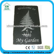 slate welcome board slate garden doorplate slate laser engraved welcome board