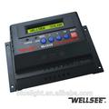 Pv panneau solaire régulateurs de charge wellsee ws-c2430 12v/24v/48v 20a pwm. de contrôle de charge