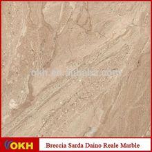 Beautiful marble Breccia Sarda Daino Reale Marble
