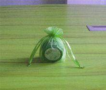 organza tropical gift bags/wine organza bag/women cosmetic pouch