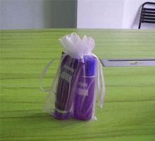 small organza drawstring bag/shoe pouch/large organza bags
