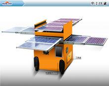 Protable 2000W solar power system/ 2000W multifunctional Mobile Trolley Solar Power /2013New portable solar power 2000W system