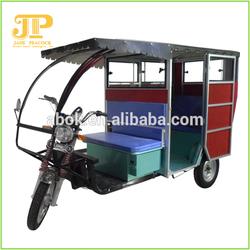 bajaj three wheels tricycle is crazy selling in India and bajaj three wheels tricycle can take 6-8 passengers