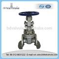 industrial tubo de aceite de la válvula de compuerta