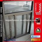 High quality Australian standard AS2047 aluminium brown color sliding window