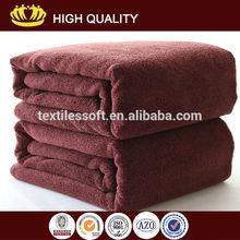 wholesale high quality heavy dark color super absorbent microfiber bath towel