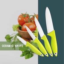 "3""paring knife, 4"" paring knife, 5"" utility knife, 6"" chef knife"
