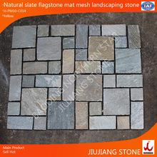 natural slate interlocking paving patterns/landscaping stone