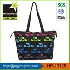 personalized natural cotton canvas tote bags with pocket inside