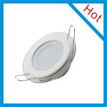 2014 popular LED Panel Light Glass Round