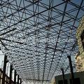 marco de acero de la estructura