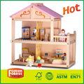 اسلوب جديد بيع الساخنة خشبية بيت الدمية