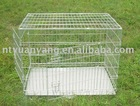 high foldable cage folding Dog Cage wire pet cage metal dog crate pet cage