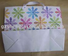 wholesale fashion decorated silk drawstring bag