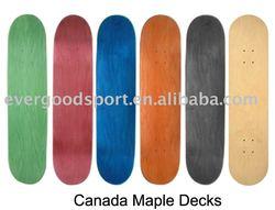 Canadian Maple Skateboard