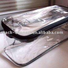 square clear pvc shoe travel bag