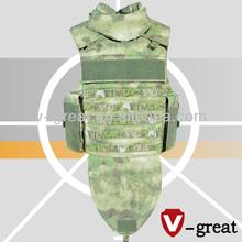 Full Protection Twaron Bulletproof Jacket for the army NIJ 0101.06 Certified