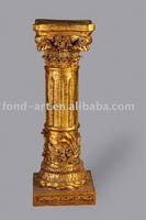 Antique PU roman art pillar column for decoration