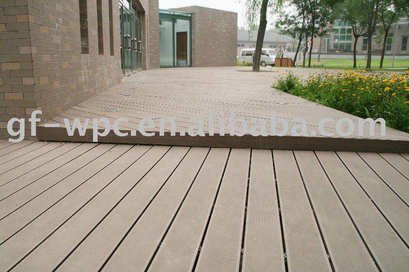 Outdoor Plastic Deck Floor Covering View Vinyl Deck Flooring Guofeng Produc