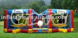 Tee-ball inflatable double baseball game baseballs