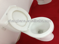 Bathroom economic ceramic two piece toilet A823