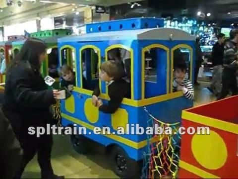Mini sin caminos tren para parques de atracciones
