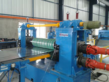 metal coil slitter line for sheet 0.4-3mm thick and 400-1600mm width