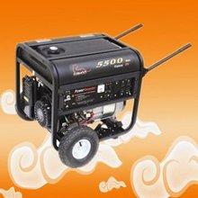 gasoline power generator WA5500-K plastic fuel tank