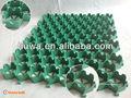 Turf Turf Pave de bloqueio bloqueio plástico moldes paver garagem grade de plástico grama paver