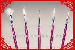 1pcs Professional Wooden handle,Weasel hair Nail Brush,Cosmetic brush,makeup brush