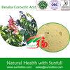 natural Banaba leaf extract corosolic acid powder