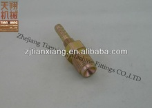 JIC Male Over Cover 20# Carbon Steel 74 Degree Hydraulic Fittings for Wire Braided Hose