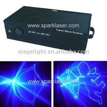 prosound and lighting 2W 445nm Gobo Animation Blue Laser Light ILDA laser show light