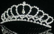 2012 fashion wedding crystal crown