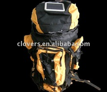 new fashion solar hiking bag in yellow and black
