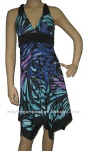 styliest V-neck prom dress 2012