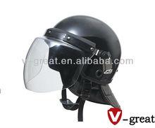 Rothco Anti-Riot helmet with Poly Face Shield Black