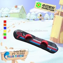 Hot Sale,Winter Plastic Kids Plastic Snow Board China snowboard manufacturers (ZY-71101)