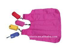 2012 hot sale and reusable polyester foldable bag