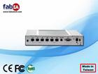 6 LAN Rackmount server, Fanless firewall gateway mini computer