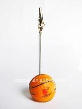 basketball base note holder clip