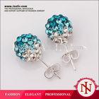 Fashion Imitation AB Clay Korean Ladies Stud Earring Base